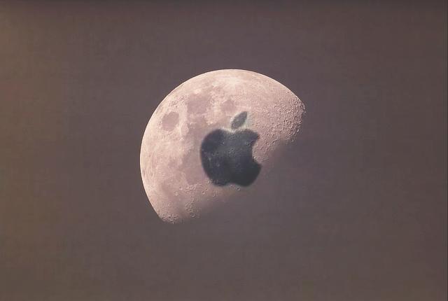 El dedo, la Luna y la manzana